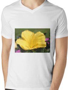 Upright Beauty Mens V-Neck T-Shirt