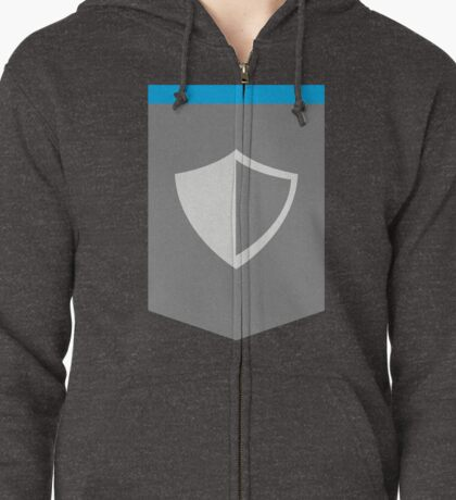 The Paladin Zipped Hoodie