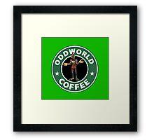 ODDWORLD CAFFE PS1 Framed Print
