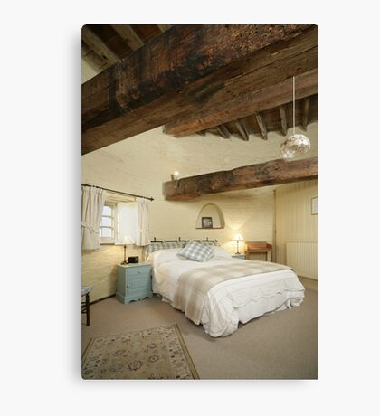 Cley Windmill's Stone Room Canvas Print