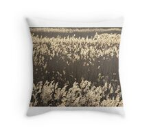 Norfolk Reeds Throw Pillow