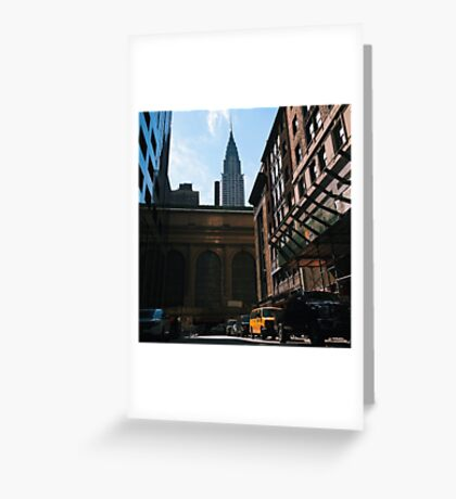 Chrysler by Grand Central Greeting Card
