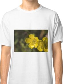 yellow flowers in spring Classic T-Shirt