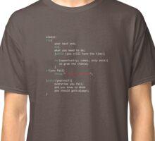 Geek Coder Classic T-Shirt