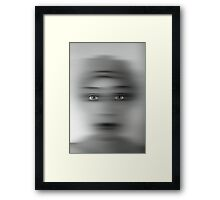 Let me look at you for a second.  Framed Print