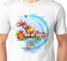 Rio de Janeiro Beach Style Unisex T-Shirt