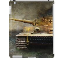 tiger tank faces T-34, eastern front iPad Case/Skin