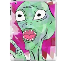 Space Alien iPad Case/Skin