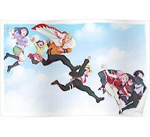 Naruto family & Sasuke family Poster