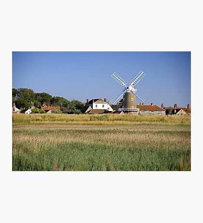 Cley Windmill Panorama Photographic Print