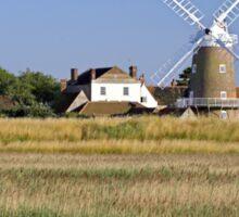 Cley Windmill Panorama Sticker