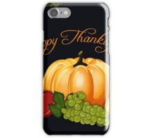 Happy Thanksgiving iPhone Case/Skin