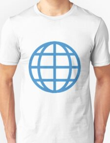 Globe With Meridians Unisex T-Shirt