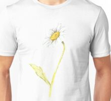 Ink Daisy Painting Unisex T-Shirt