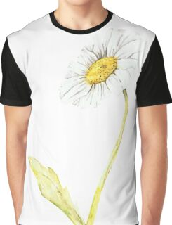 Ink Daisy Painting Graphic T-Shirt