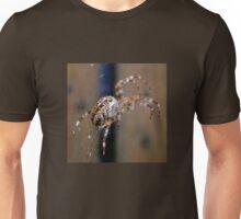 Spider on my walk Unisex T-Shirt