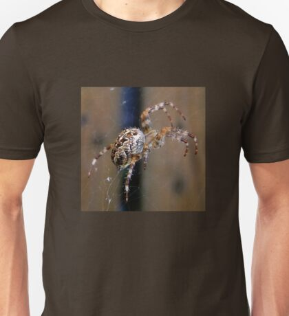 Spider on my walk Unisex T-Shirt