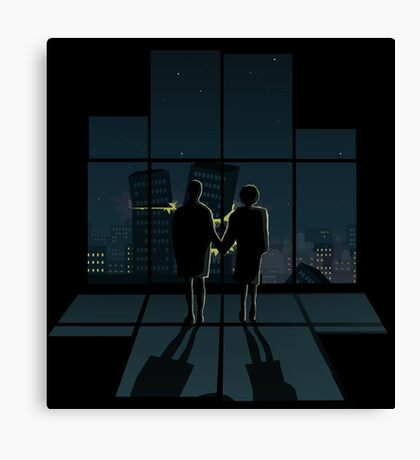 You've met me at a very strange time in my life Canvas Print