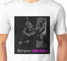 2 broke girls - Bonjour bitches Unisex T-Shirt