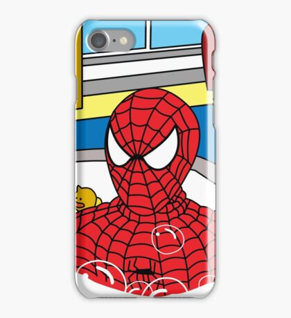 bubble man   iPhone Case/Skin