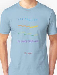 Voltron Sound Effects Typography Unisex T-Shirt