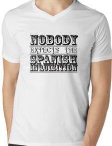 Best of British TV | Monty Python | Black Mens V-Neck T-Shirt