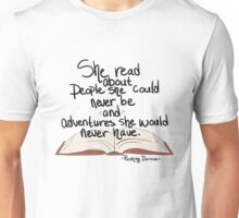 She Read Unisex T-Shirt