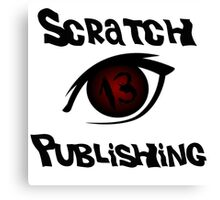Scratch 13 Publishing Logo Canvas Print