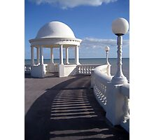 Shadows on The Colonnade Photographic Print