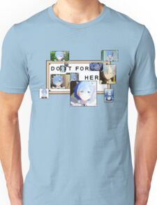 Re:Zero - Rem - Do it for her Unisex T-Shirt