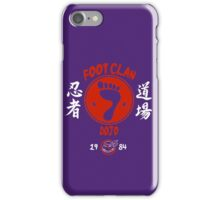 Foot Dojo  iPhone Case/Skin