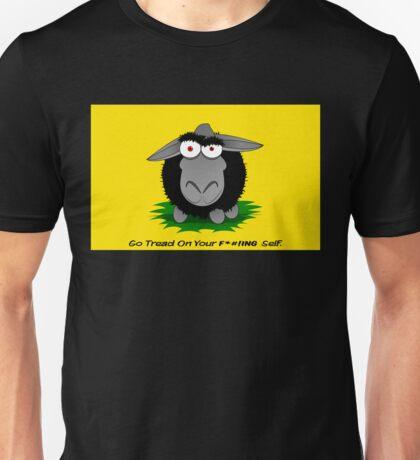 Black Sheep Gadsden Flag Unisex T-Shirt