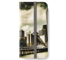 Noon at the dock iPhone Wallet/Case/Skin