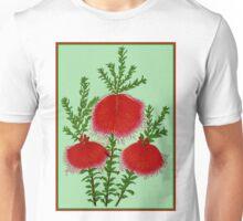 """""""BELL STRING FLOWER"""" Vintage Art Print Unisex T-Shirt"""