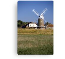 Stunning Panorama of Cley Windmill Canvas Print