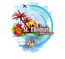 St Thomas USVI Photographic Print
