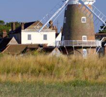 Stunning Panorama of Cley Windmill Sticker