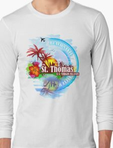 St Thomas USVI Long Sleeve T-Shirt