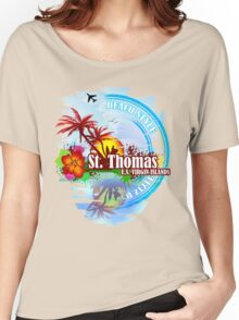 St Thomas USVI Women's Relaxed Fit T-Shirt