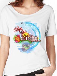 St Thomas USVI Women's Relaxed Fit T-Shirt