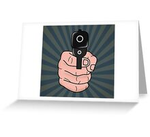 pop art  Greeting Card