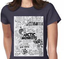 Arctic Monkeys Quotes Womens Fitted T-Shirt