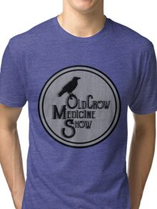 Old Crow Medicine Show Badge Tri-blend T-Shirt