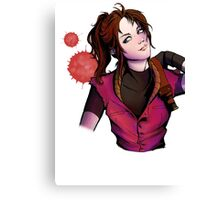 Claire Redfield Canvas Print