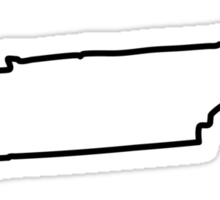 Tennessee State Outline Sticker