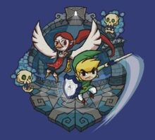Legend of Zelda Wind Waker Earth Temple T-Shirt by Purrdemonium