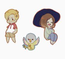 Free! Goro, Miho, Iwatobi-chan by toifshi