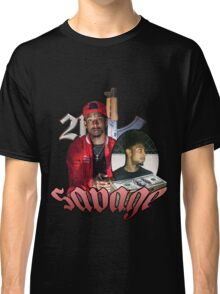 21 SAVAGE VINTAGE T SHIRT TEE HIPHOP Classic T-Shirt