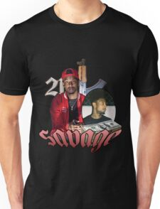21 SAVAGE VINTAGE T SHIRT TEE HIPHOP Unisex T-Shirt