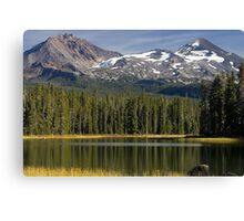 Scott Lake in Oregon Canvas Print